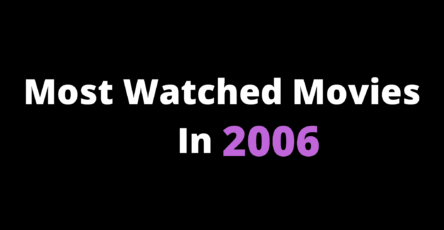 Best Movies In 2006