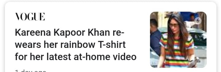 kareena rainbow shirt